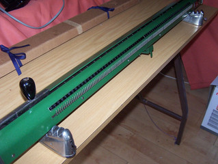 Record Knitting Machine