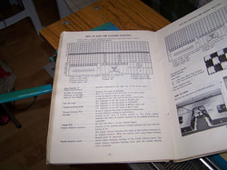 Toyota 747 Punchcard