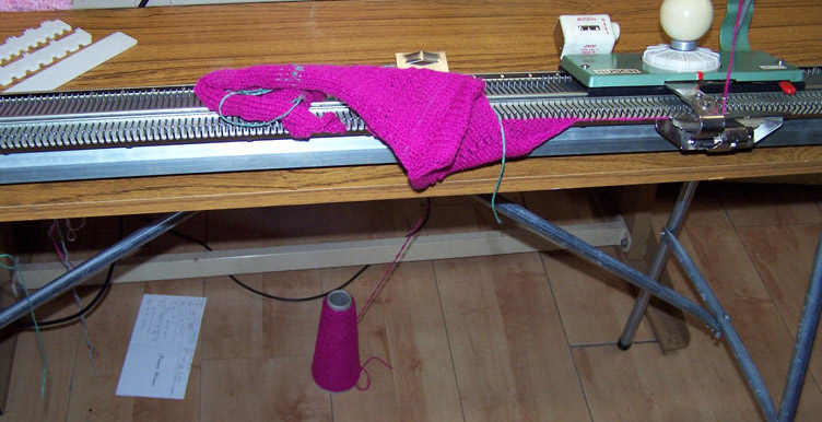 Busch Knitting Machine