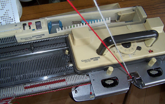 Knitmaster 700 carriage