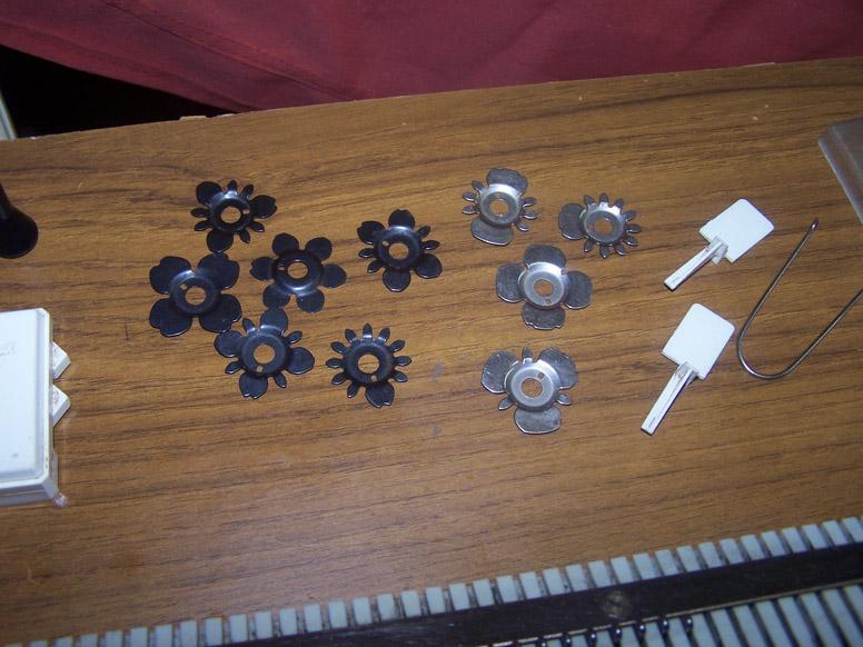 Knittax AM3 pattern wheels