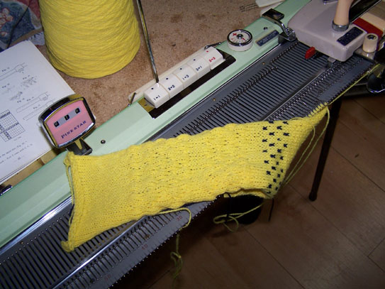 Pine Star Knitting Machine