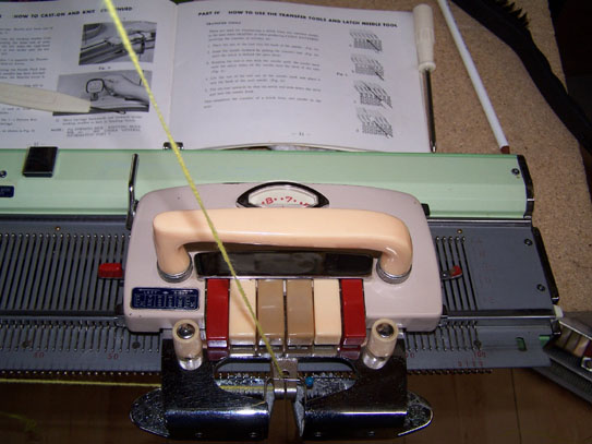 Pine Star Knitting Machine Carriage