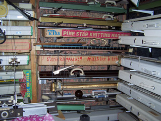 The Knitting Shed - the Knitting Machine Museum Workshop