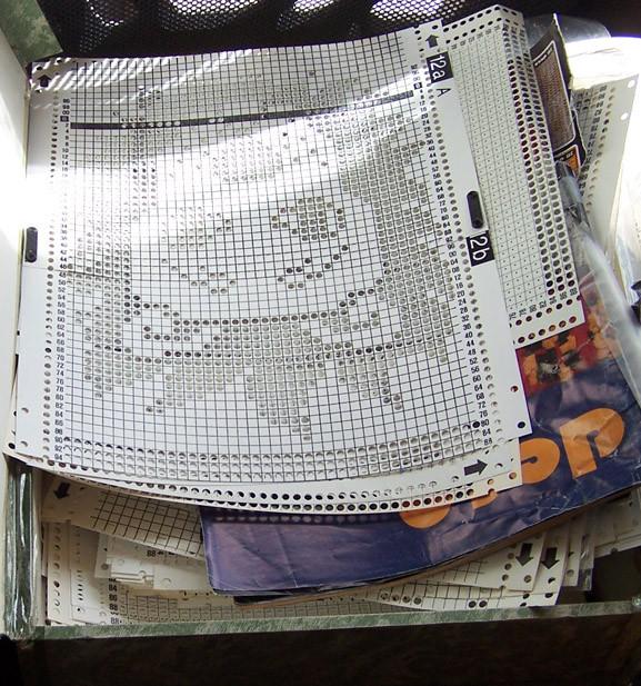 Passap Duo 80 Punchcards