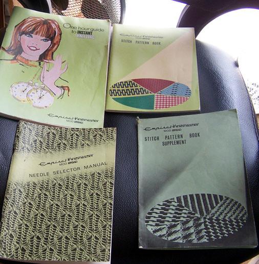 Knitmaster 250 Instruction Manuals