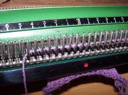 sample of stocking stitch 3