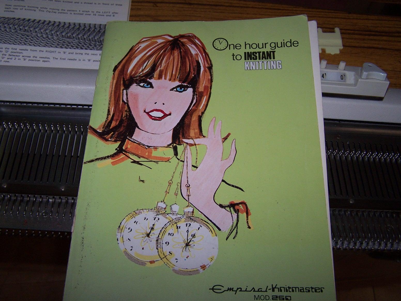 Knitmaster 250 Manual