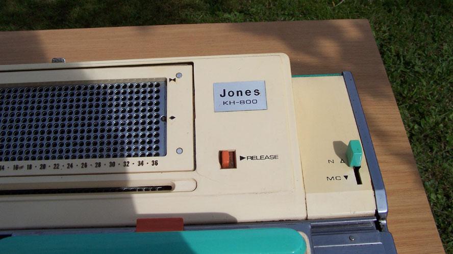 Jones KH800 End Place