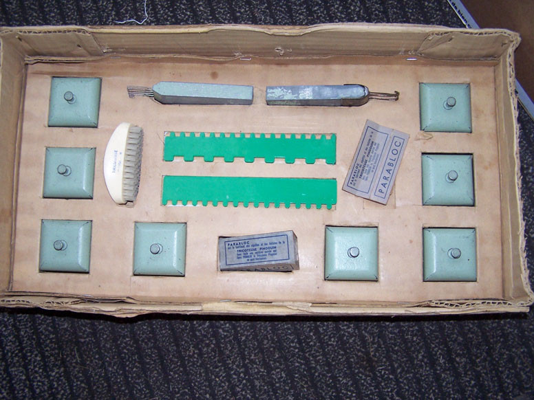 Weights and selection combs plus wax