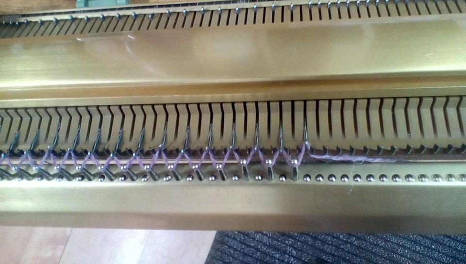 Turmix Unic Knitting Machine work