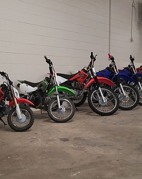 Dirt Bikes Available For Rent