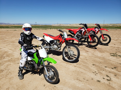 Guided Tours and Dirt Bike rentals in Grand Junction