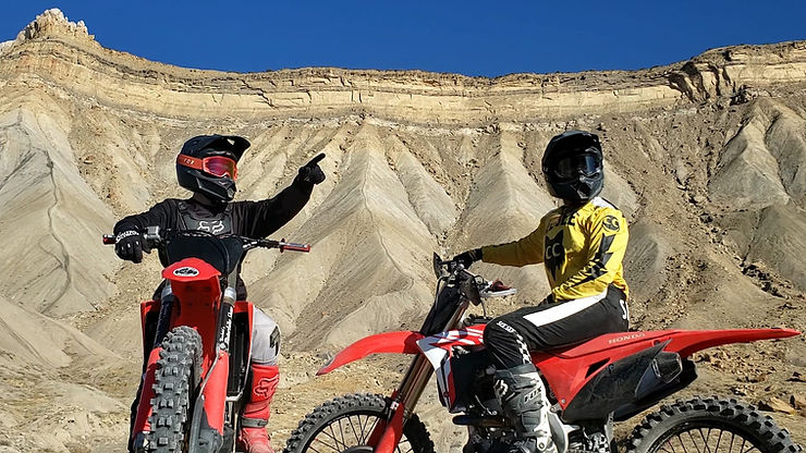 Dirt Bike Couple