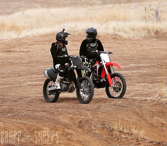 couples family activities dirt bikes