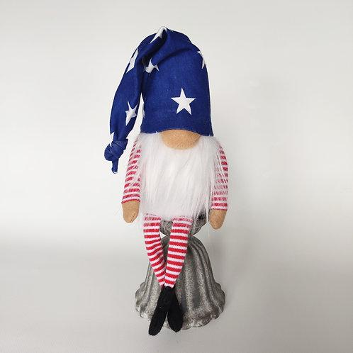 Patriotic Gnome- Uncle Sam