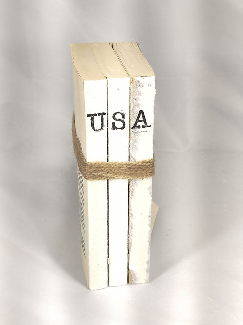 USA Book Stack