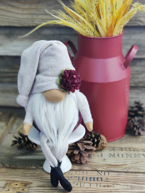 Fall Flower Gnome