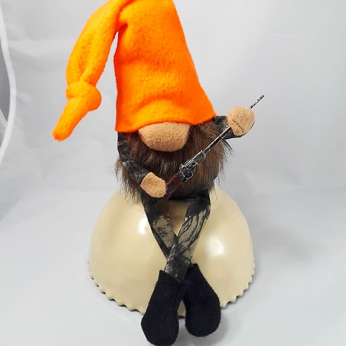 Hunting Gnome- Brown Beard