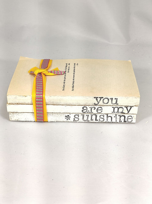 You Are My Sunshine Book Stack
