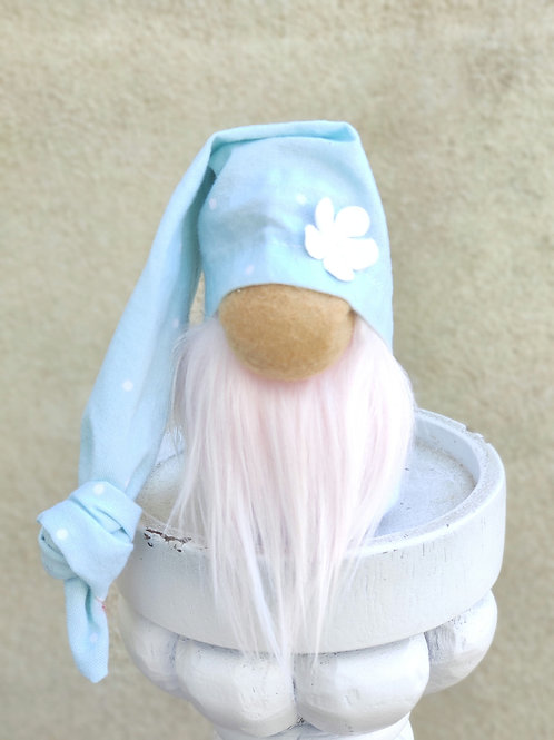 Light Blue MINI Spring Gnome