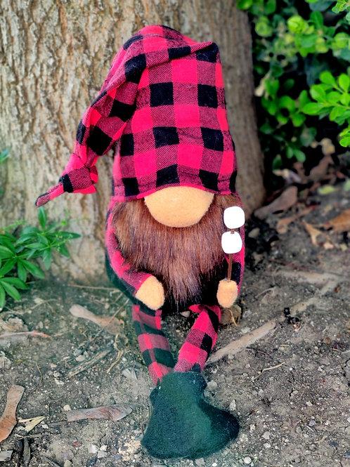 Roasting Marshmallows Gnome