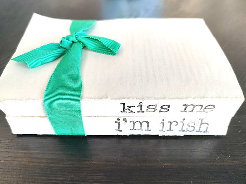 Kiss Me I'm Irish Bookstack