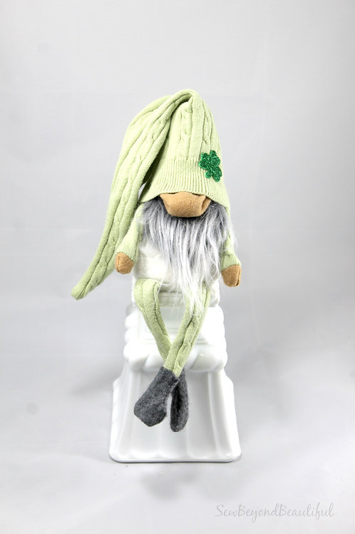 Sage St Patrick's Day Gnome