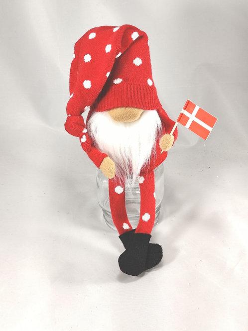 Dot Danish Flag Gnome