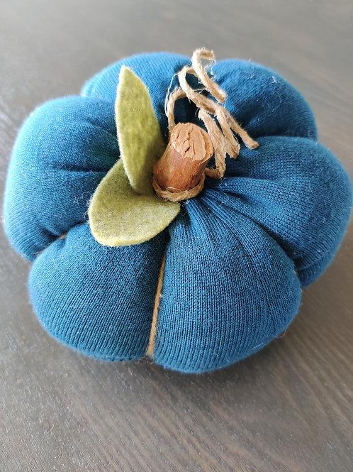 MSmall Teal Sweater Pumpkin