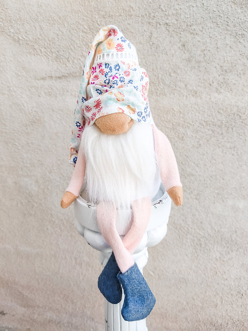 Floral Spring Gnome
