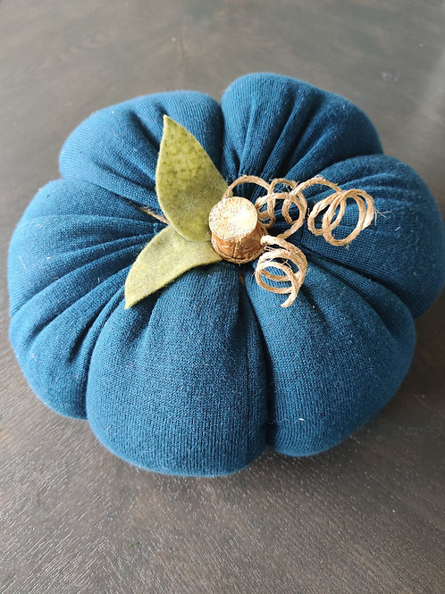 XLarge Teal Sweater Pumpkin