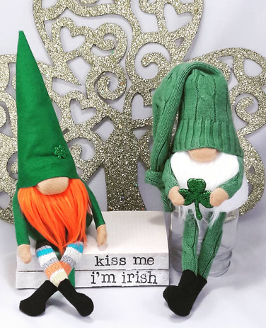 St. Patricks Day Gnomes