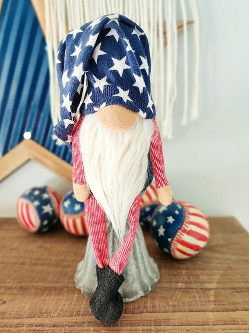 Star Patriotic Gnome