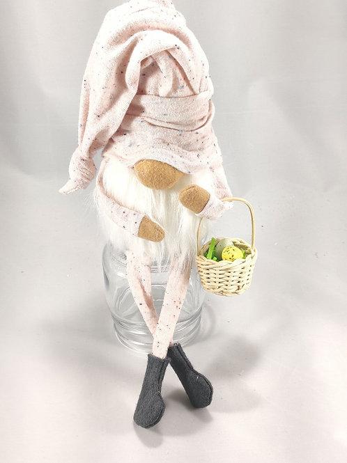 Pink Speckle with Easter Basket