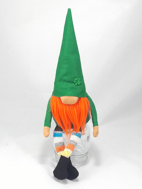 Rainbow Legs St. Patty's Gnome