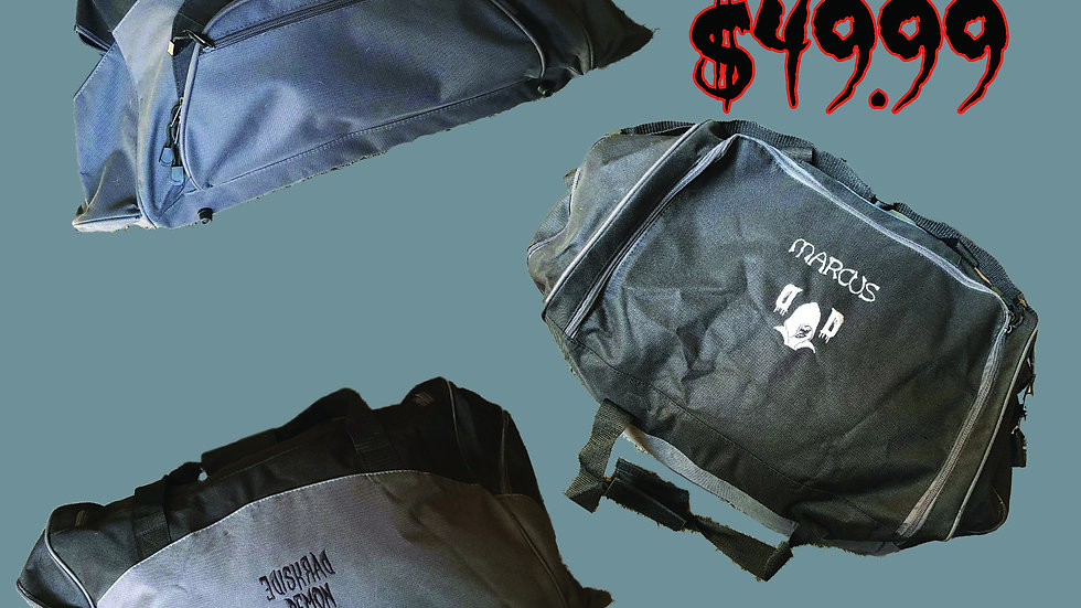 PERSONALIZED DARKSIDE DEMON DUFFLE/GYM BAG