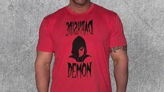 RED DARKSIDE DEMON LOGO SHIRT