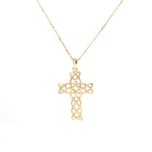 9ct Celtic Cross