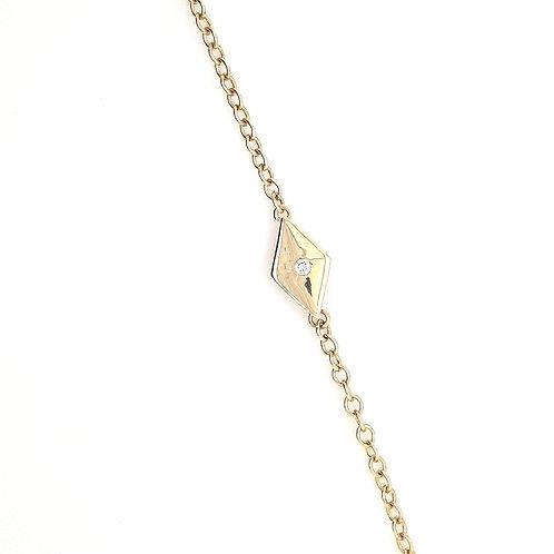 9ct Marquis Diamond Bracelet