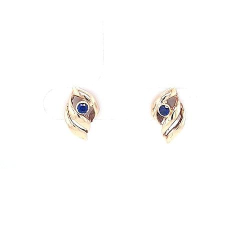 9ct Sapphire Earrings