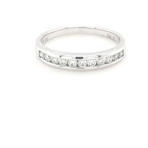 9ct Brilliant Round Eternity Ring