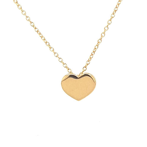9ct Heart Pendant