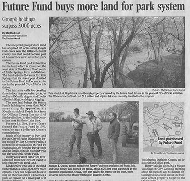 Future Fund Buys Land