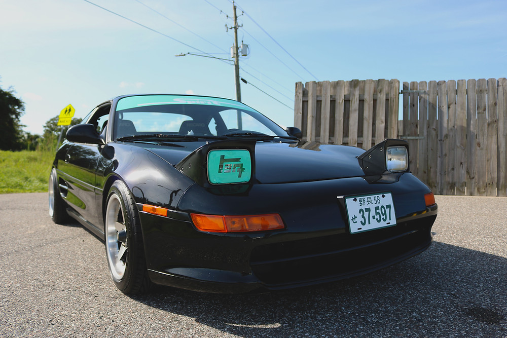 JDM Toyota MR2 SW20 with Beams 3SGE swap