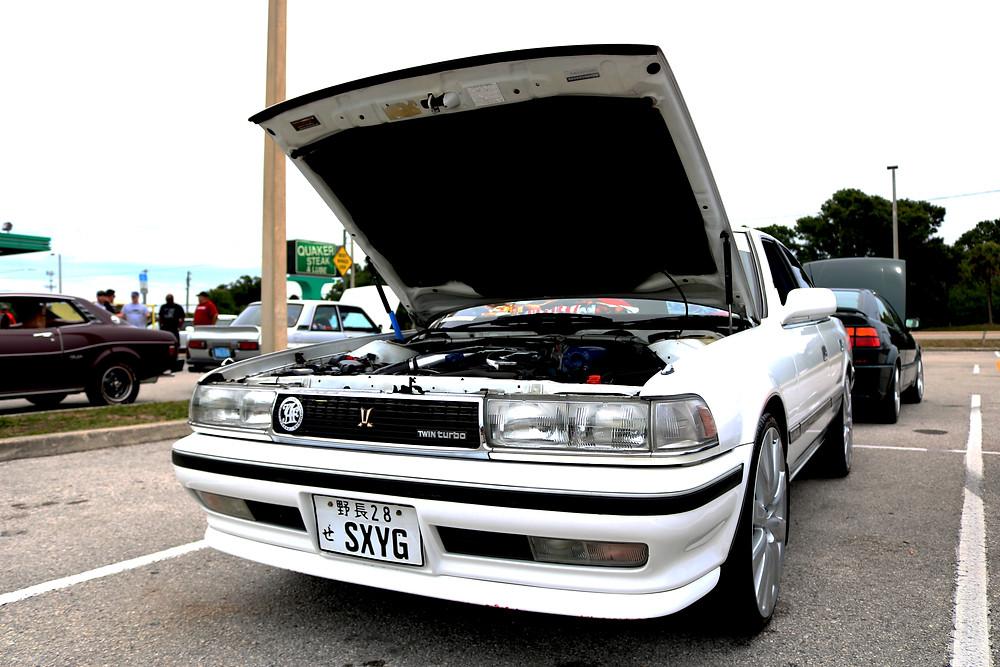 Toyota Cresta 1ggte twin turbo JDM rhd