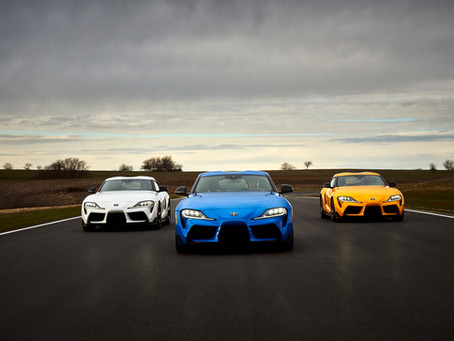 Toyota News: 2021 Toyota GR Supra Gets More Power And A 4 Cylinder Option