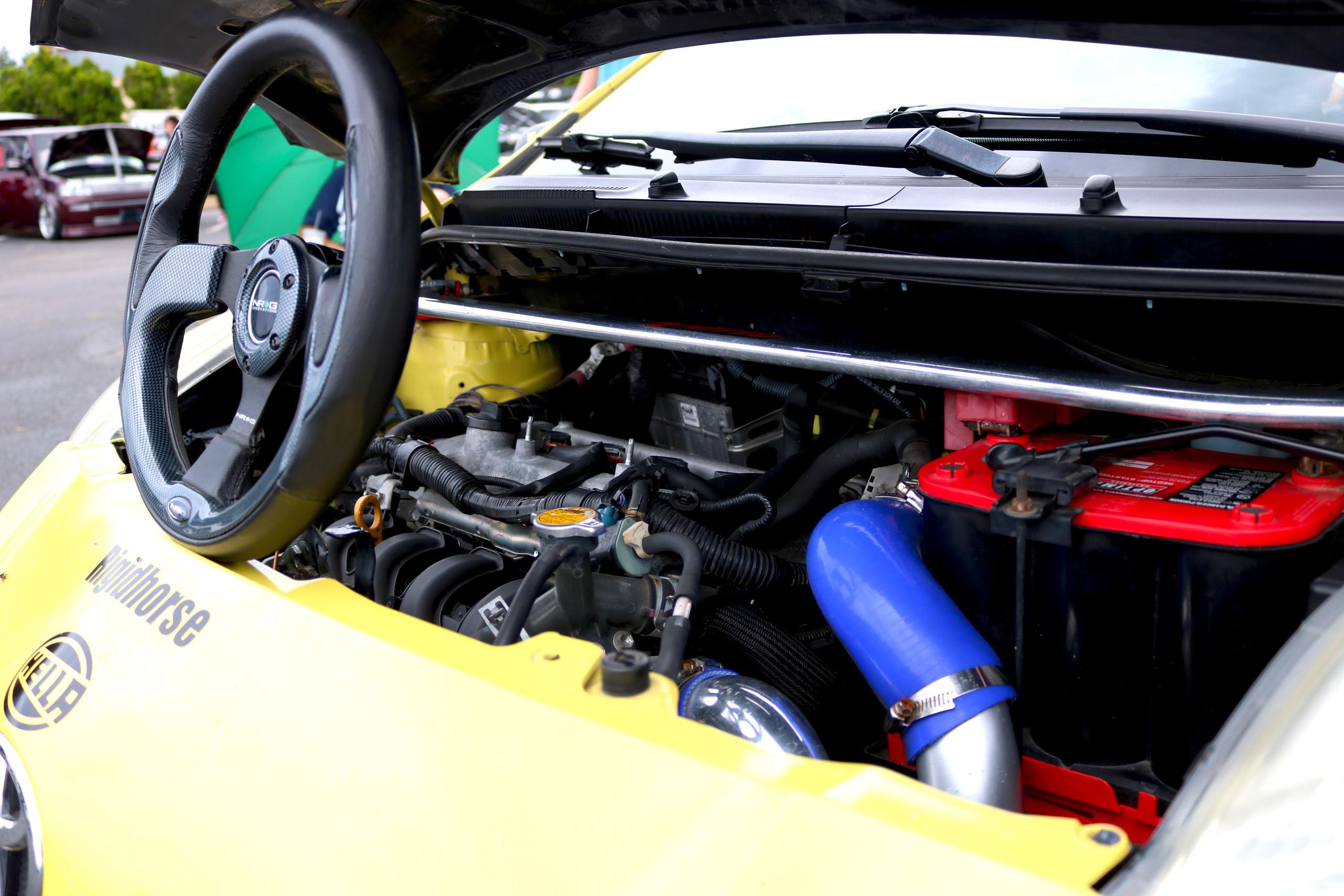 toyota, yaris, autocross, track car, 1zz, turbo