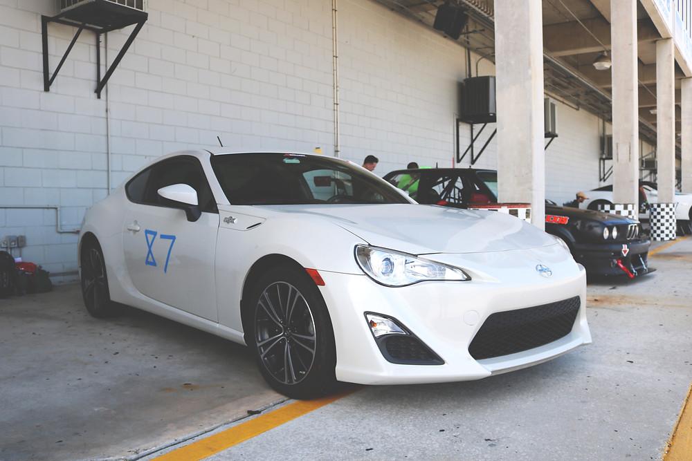 Toyota Scion FRS 86 Sebring International Raceway HPDE Chin Track Day