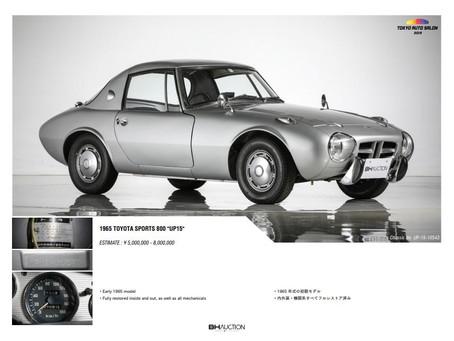 Tokyo Auto Salon Auction: Toyota Classics Up for Grabs